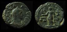 EGYPT, Alexandria. Carus Potin Tetradrachm  Year 1 = 282/283 AD. 20mm, 8.1g