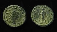 Ancient Coins - Gallienus AE Antoninianus. Asian mint.  RARE & SUPERB