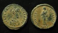Ancient Coins - Aelia Flaccilla AE 23mm.  Beautiful desert patina! Superb!!