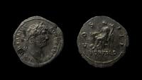 Ancient Coins - Hadrian, 117-138 AD. AR Denarius. Rome mint.