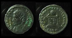 Ancient Coins - Constantine I AE3.  London mint, Rare!