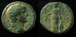 Ancient Coins - CAPPADOCIA, Tyana. Hadrian. AD 117-138. Æ (21mm).
