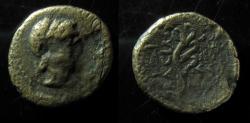Ancient Coins - SELEUCID, ALEXANDER BALAS. 150-145 BC. APLUSTRE. ASCALON MINT. SCARCE.