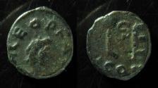 Ancient Coins - LEO, 457-474 AD. MONOGRAM,  CONSTANTINOPLE MINT.  SUPERB