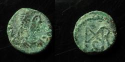 Ancient Coins - Marcian AE4 12mm. Cyzicus mint. RARE!