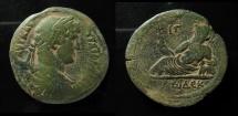Ancient Coins - Egypt, Alexandria Hadrian AE Drachm. 32mm, Dated year 12 = AD 127/8.