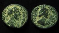 Ancient Coins - Syria, Decapolis. Abila. Marcus Aurelius. 161-180 C.E. AE 22 mm.