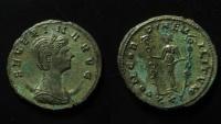 Ancient Coins - Severina Silvered Antoninianus.