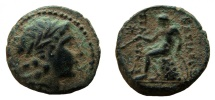 Seleukid Kingdom. Seleukos III, 226-223 BC. AE 15 mm. Antioch mint.