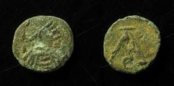 Ancient Coins - VANDALS, IMITATION OF ANASTASIUS NUMMUS, 10MM, EX-RARE! AND BEAUTIFUL EXAMPLE!