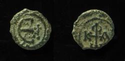 Ancient Coins - PHOCAS (602-610). Pentanummium. Antioch.  VERY RARE
