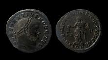 Ancient Coins - Constantius I. As Caesar, 293-305 AD. AE Follis. Aquileia mint, 3rd officina.