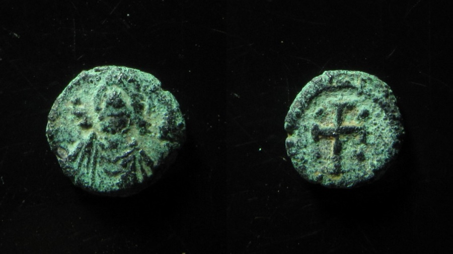 World Coins - VANDALS IN AFRICA. Nummus (Circa 5th-6th century AD). Carthage. FDC & EX-RARE!!!!