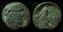 Ancient Coins - PHOENICIA, Bronze Tyre Shekel. Of Great Rarity