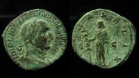 Ancient Coins - Trajan Decius Æ Sestertius. Struck 249-250 AD.  Dacia, (17.9g)