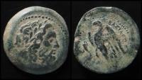 Ancient Coins - Ptolemaic Kingdom, Ptolemy II, 285 - 246 B.C. AE 28 mm. Rare.