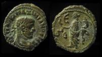 Ancient Coins - EGYPT, Alexandria. Maximianus, 286 - 305 AD. Billon Tetradrachm