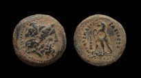 Ancient Coins - Ptolemaic Kingdom. Ptolemy III Euergetes, 246-222 BC. AE20 mm. Tyre Mint.