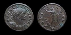 Ancient Coins - Aurelian, 270-275 AD. AE Antoninianus. Mediolanum mint. 21 mm.
