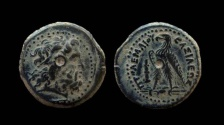 Ancient Coins - Ptolemaic Kingdom of Egypt, Ptolemy II, AE 20 mm. Tyre mint.