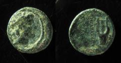 Ancient Coins - Phoenicia, Ptolemais-Ake AE14mm. 111-110 BC.