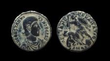Ancient Coins - Constantius Gallus, 351-354 AD. AE 17 mm, Antioch mint.