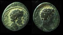 Ancient Coins - JUDAEA, Aelia Capitolina (Jerusalem). Antoninus Pius. 138-161 AD. & Marcus Aurelius