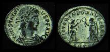 CONSTANTIUS II, 337-361 AD. Victoriae. Thessalonica Mint