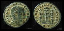 Ancient Coins - Maximinus II, AE Follis, 312-313 AD. 22mm, Rome mint!  Superb & Very Rare!