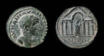 Ancient Coins - Decapolis, Dium. Elagabalus, AE 22 mm. Rare.