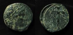 Ancient Coins - Seleucid Kingdom, Seleukos I  Nikator AE 21 mm. Antioch mint.