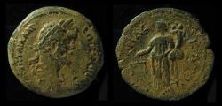 Ancient Coins - EGYPT, Alexandria. Antoninus Pius. 138-161 AD.Drachm,32mm,  Dikaiosyne Holding Scales