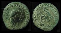 COMMAGENE, Samosata. Philip I, 244 - 249 AD Tyche and River-God. AE34mm