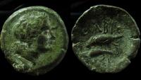 Ancient Coins - Sarmatia, Olbia. AE 23 mm.