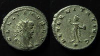 Ancient Coins - Gallienus Billon Antoninianus. Mint of Asia/Antioch. 20 mm.