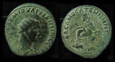 Ancient Coins - COMMAGENE, Samosata. Philip I, 244 - 249 AD Tyche and River-God. AE34mm
