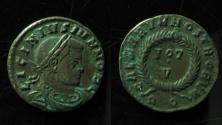 Ancient Coins - Licinius II, Aquileia mint, AE3. Rare!