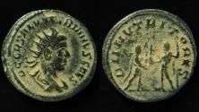 Ancient Coins - Saloninus, 255-259 AD. Billon Antoninianus, 21 mm.