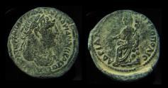 Ancient Coins - ARABIA. Petra. Hadrian 117-138. AD Metropolis. Tyche