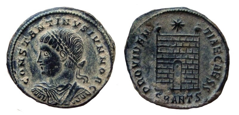 Ancient Coins - Constantine II, AE 18 mm. Antioch mint.
