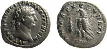 Ancient Coins - Phoenicia. Tyre. Trajan 98-117 AD. AR Didrachm.