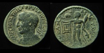 Ancient Coins - SYRIA. Coele-Syria. Damascus. Philip I AE 28 mm. Beautiful and rare example!