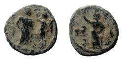 Ancient Coins - Egypt, Alexandria. Lead tessera. 19 mm.