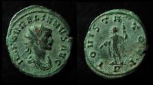 Ancient Coins - AURELIAN, 270-275 AD. ANTONINIANUS. IOVI STATORI. (JUPITER) SERDICA MINT, Rare!