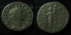 Ancient Coins - Tacitus, AE antoninianus. Lyons mint