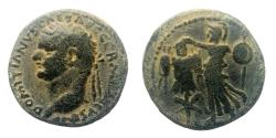 Ancient Coins - Judaea Capta, Domitian. AE 23 mm. Full legend. Well centered (rare for this type).