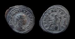Ancient Coins - Quietus, usurper in Syria, 260–261 AD. Bilon Antoninianus, 21 mm. Uncertain Syrian mint.