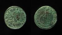 Ancient Coins - Crispus. Caesar, AD 316-326. AE Follis. Aquileia mint.