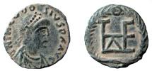 Theodosius II, 408-450 AD. AE 11 mm. Constantinople mint.