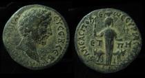 Ancient Coins - SAMARIA, Neapolis. Elagabalus 218-222 AD. AE, Superb Example!